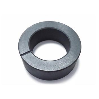 Anisotropic ferrite multipole ring permanent magnet