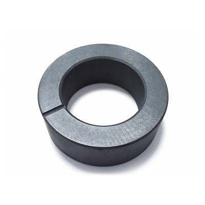 Anisotropic ferrite multipole ring permanent magnet